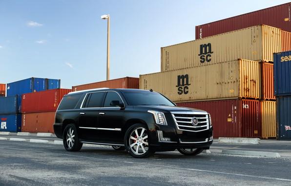 Picture Cadillac, Escalade, Black