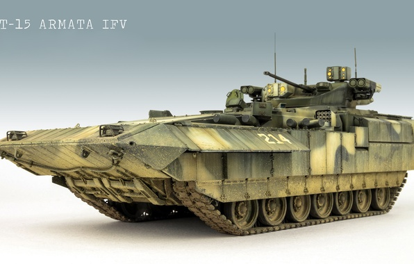 Picture model, infantry fighting vehicle, BMP, Armata, T-15 Armata, T-15