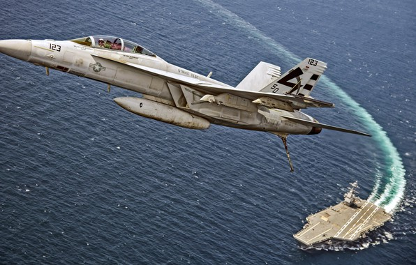 Picture fighter, Super Hornet, McDonnell Douglas, F/A-18F