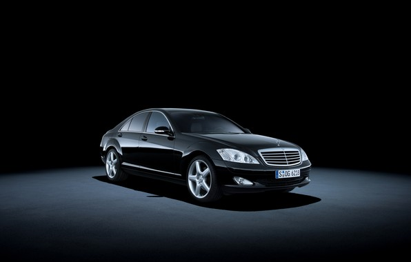 Picture background, Mercedes-Benz, S 500