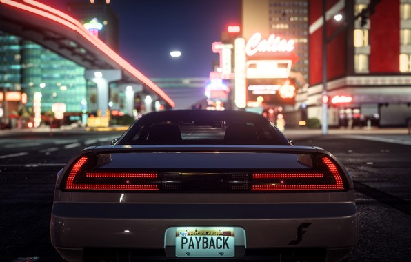 Photo wallpaper Need For Speed Payback, street, car, the city