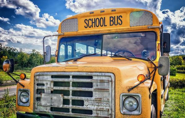 school bus wallpapers hd - photo #14