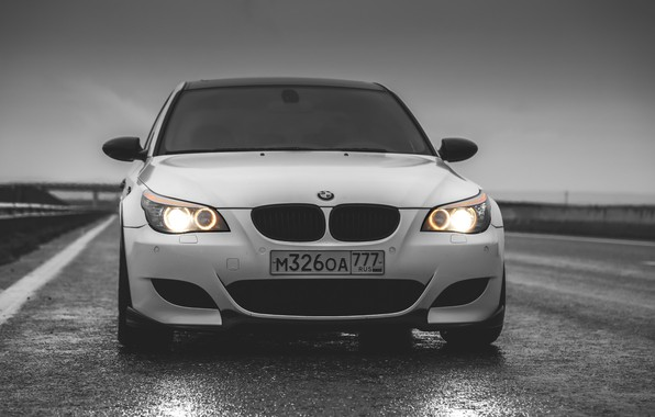 Picture auto, BMW, Machine, BMW, Lights, Before, Angel Eyes