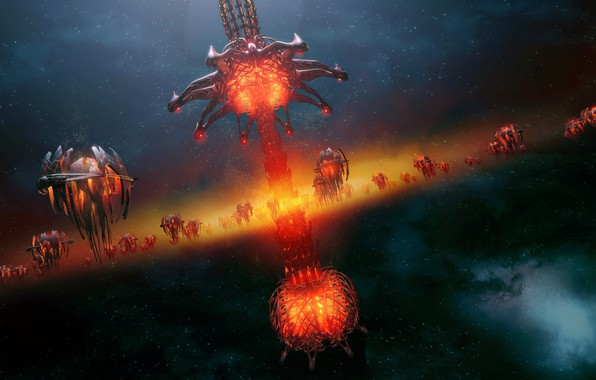Picture something, creatures, The Xeno Armada