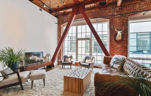 Photo Wallpaper Design, Style, Interior, Living Room, South Park Home