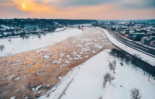 Picture Lithuania, Kaunas, The fatherland, Nemunas