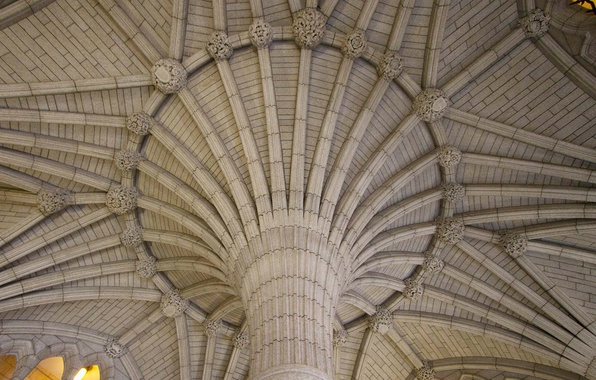 Photo wallpaper Ottawa, support, architecture, Hall Of The Confederation, Parliament, arch