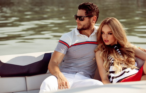 Picture look, girl, style, makeup, glasses, blonde, male, fashion