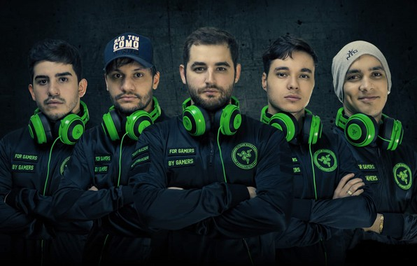 Photo wallpaper Esports, SK Gaming, Counter Strike, Players, Global Offensive, Team, Brazil