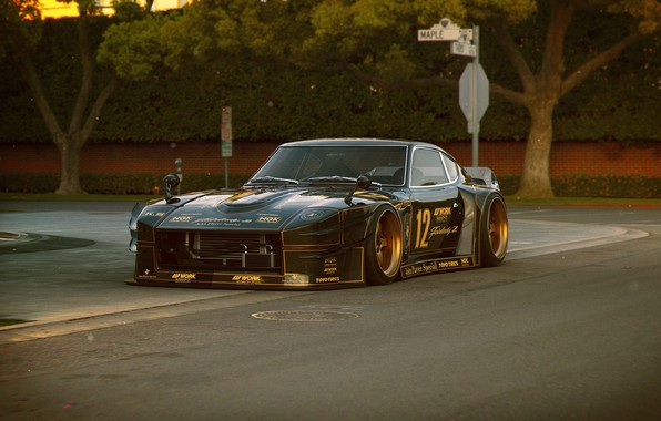 Picture Car, Race, Datsun, Future, 240Z, by Khyzyl Saleem