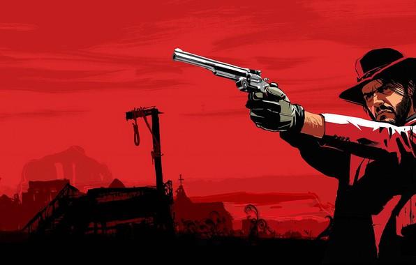 Picture Wild West, Red Dead Redemption, Rockstar Game, Wild West, American Old West