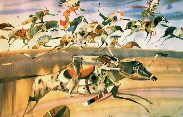 Picture speed, The Indians, 2003, ARUSHA VOZMUS