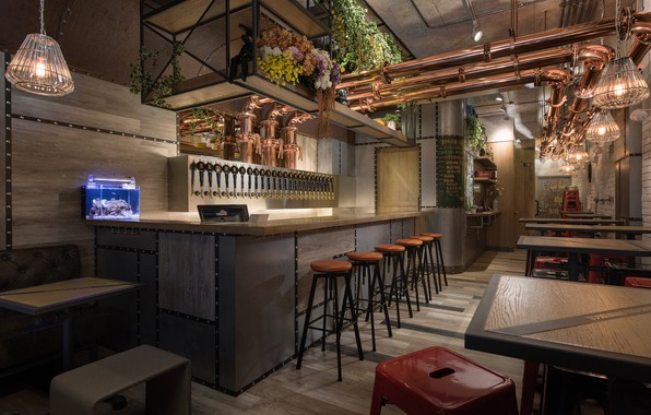 Picture style, interior, cafe, bar