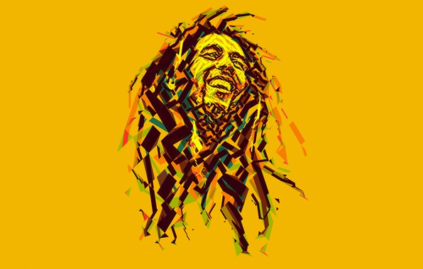 Wallpaper music bob marley bob marley reggae low poly images for desktop section - Rasta bob live wallpaper free download ...