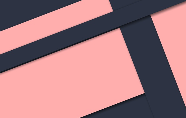Picture blue, pink, geometry, design, lines background, papers, color, material