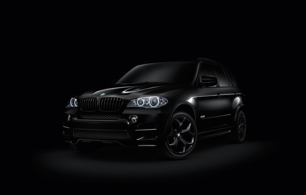Picture black, BMW, car
