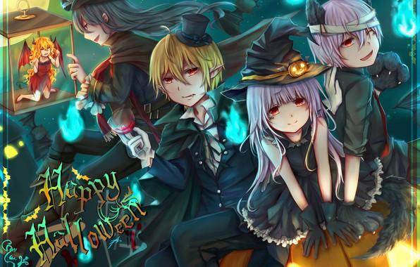 Picture fantasy, art, costumes, Halloween