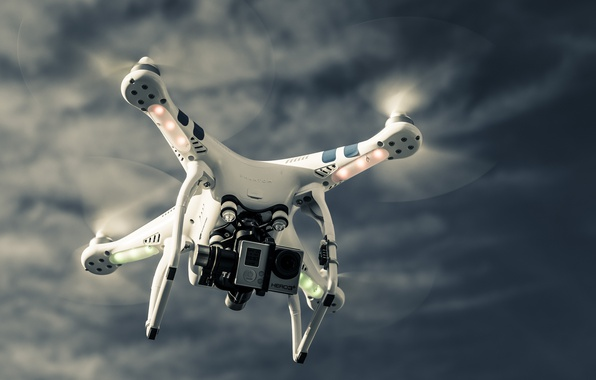 Photo Wallpaper Sky Technology Drone High Quadcopter Tec