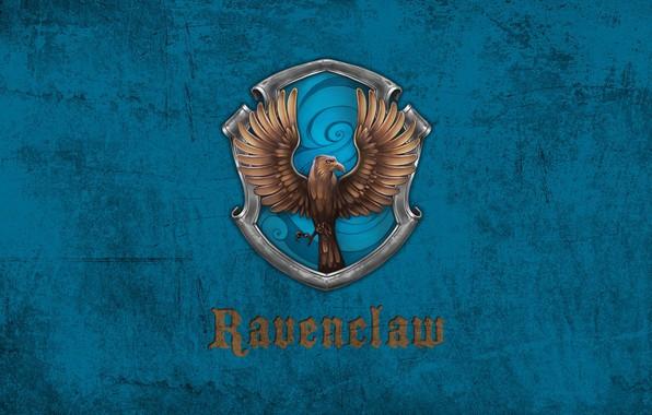 Picture Raven, emblem, Hogwarts, Hogwarts, claw, Ravenclaw, Ravenclaw, faculty, Of Rowena Ravenclaw, The crazy house is …