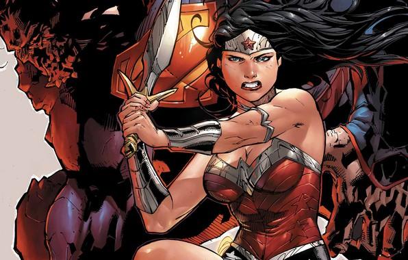 Picture Hair, Sword, Costume, Hero, Superman, Comic, Brunette, Wonder Woman, Superhero, Hero, Brunette, Superman, Clark Kent, ...