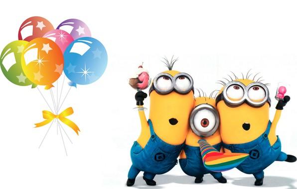 Wallpaper Birthday Holiday Art Children S Minion