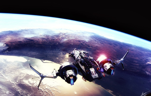 Picture space, ship, fanart, sci fi, star conflict