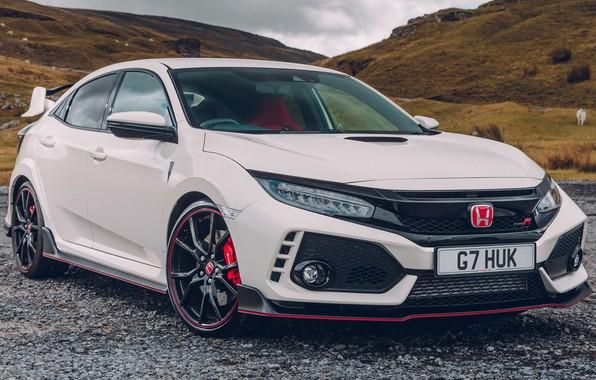 Picture Honda, White, Civic, Type, 2017