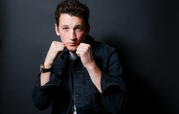 Picture pose, Boxing, actor, shirt, fists, photoshoot, stand, for the film, Miles Teller, Miles Teller, Bleed ...
