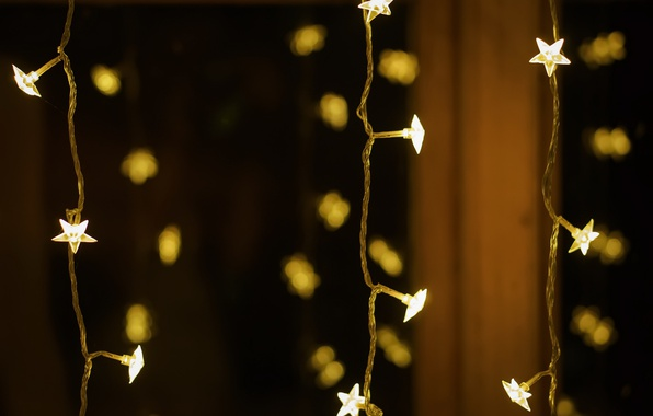 Picture background, holiday, garland