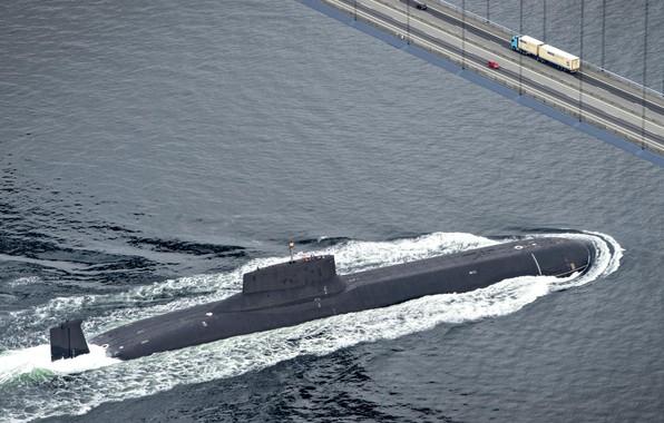 Picture bridge, Navy, submarine, Russia, Project 941