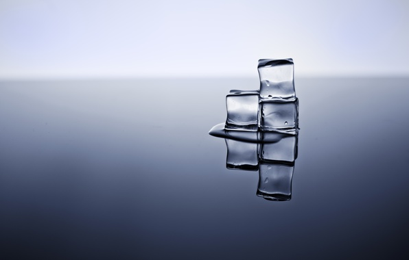 Picture background, cubes, ice