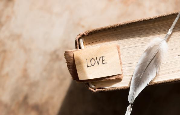 Picture pen, book, love, vintage, i love you, heart, romantic, book