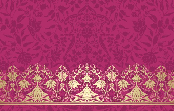 Picture Pattern, Pink Background, Texture