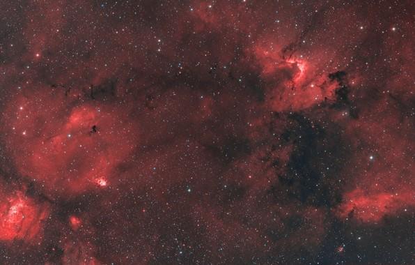 Picture space, nebula, Bubble, Cave