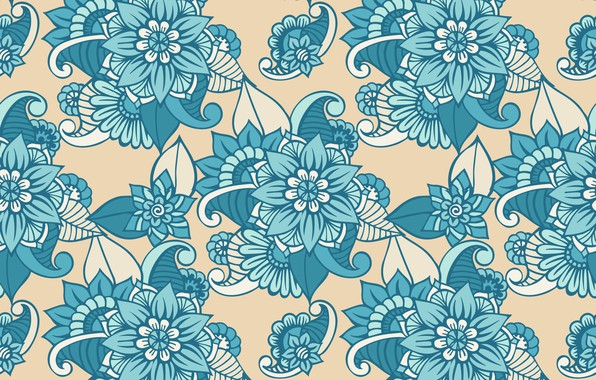 Picture flowers, pattern, texture, design, pattern, floral