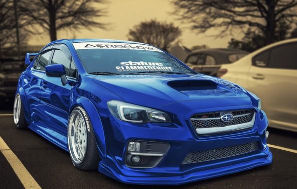 Picture design, Subaru, WRX, car