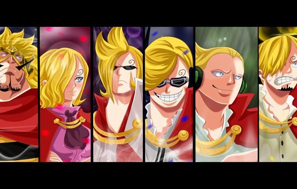 Wallpaper Pirate Anime Manga King Japanese Sanji Kaizouku Vinsmoke Ichiji Niji Reiju By Mariablueneko Jaiji Yonji Family