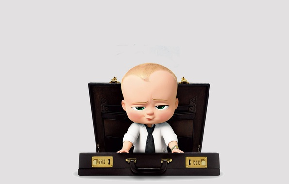 Picture cinema, boss, movie, baby, book, film, animated film, animated movie, suitcase, DreamWorks Animation, The boss …