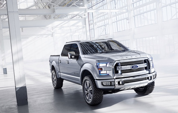 Picture Ford, SUV, pickup, Atlas-C