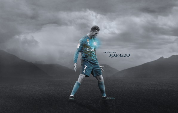 Picture Cristiano Ronaldo, football, CR7, champions league, legend, Real Madrid, Portugal, player, Ronaldo, the celebration