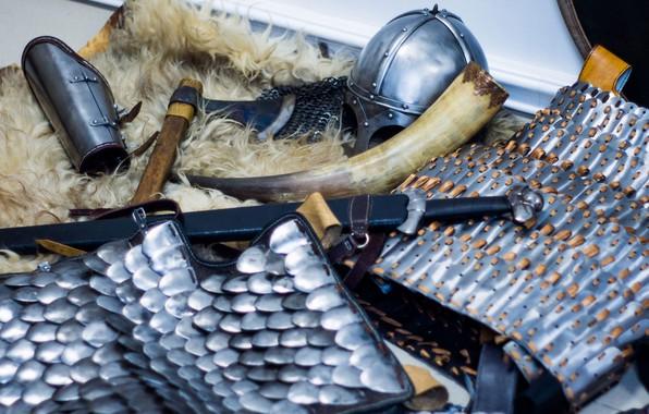 Picture Sword, Skin, Helmet of Gjermundbu, A Carolingian, Brodex, Lamellar armor, Horn, Of serir, Viking sword, …