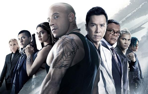Picture poster, Vin Diesel, Deepika Padukone, Samuel L. Jackson, Toni Collette, Donnie Yen, Ruby Rose, Three …