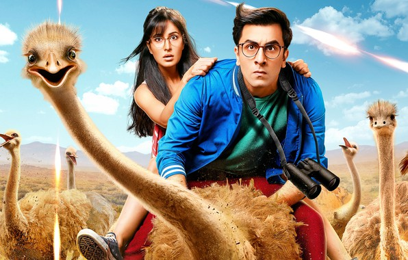 Picture movie, the film, ostriches, Jagga Jasoos