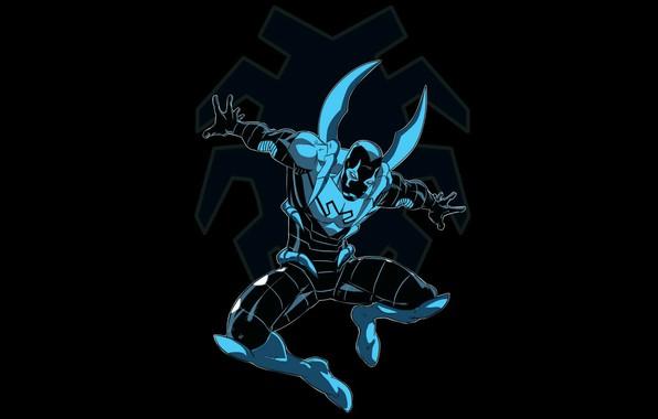 Picture background, comics, hero, DC Comics, scarab, blue beetle, scarab, blue beetle