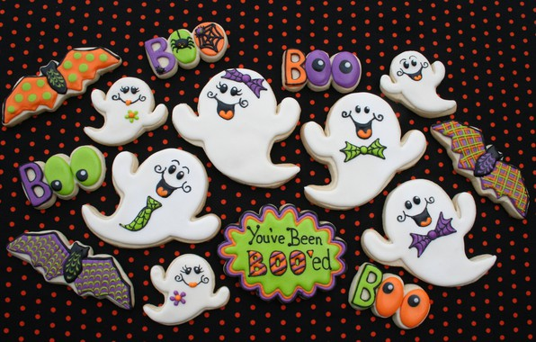 Picture holiday, cookies, Halloween, treat