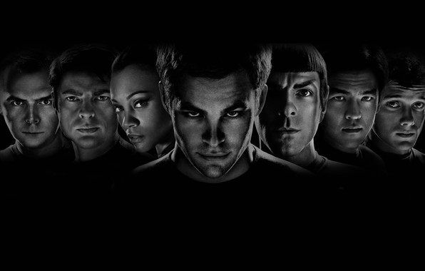 Picture heroes, Star Trek, characters, Star trek