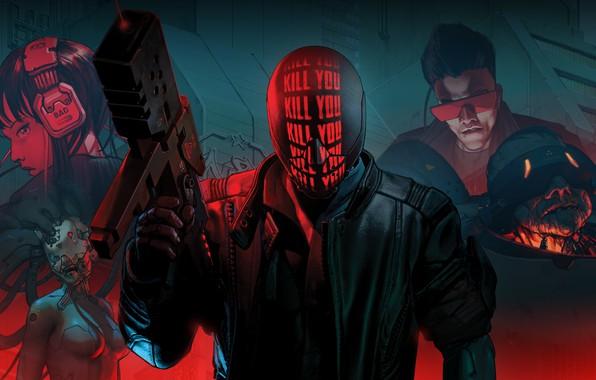 Picture Devolver Digital, RUINER, Reikon Games, Ruiner, Kill You