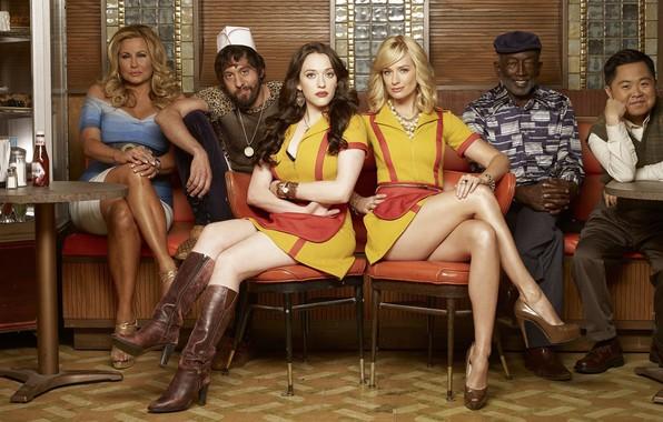 Picture Max, Kat Dennings, Caroline, Beth Bers, 2 broke girls, 2 broke girls