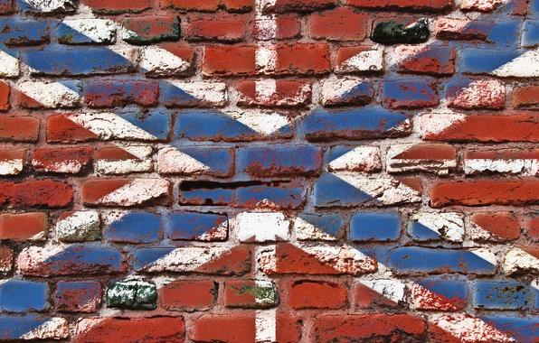 Picture wall, brick, flag, Navy, LNB, DNR