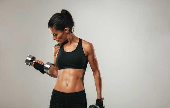 Picture girl, female, workout, fitness